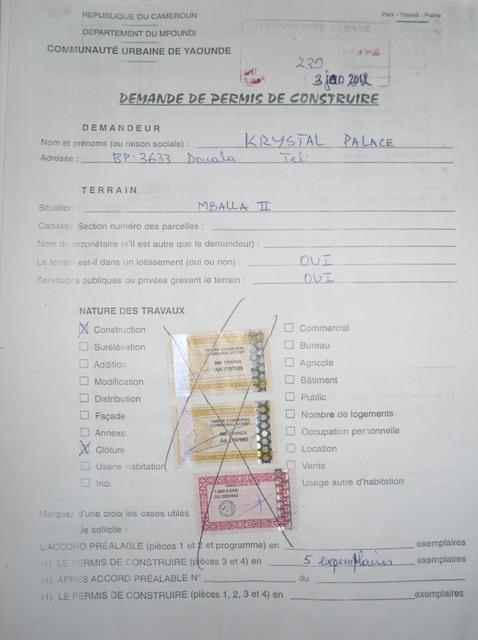 eRegulations Yaoundé